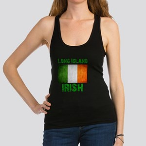 long_island_irish_2 Racerback Tank Top