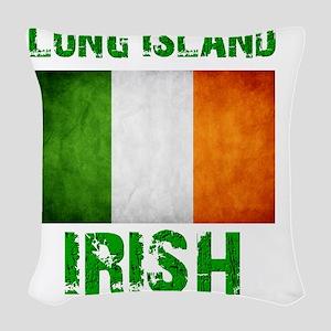 long_island_irish_2 Woven Throw Pillow