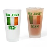 Shamrock Drinking Glass