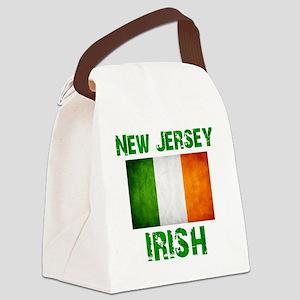 new_jersey_irish_2 Canvas Lunch Bag