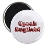 Speak English - Faded Magnet