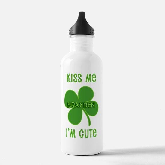 Kiss Me Brayden Water Bottle