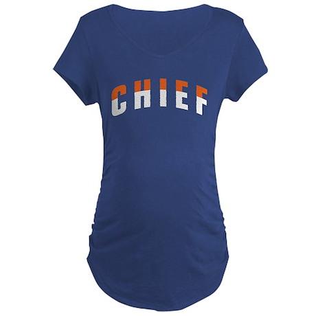 CHIEF Maternity Dark T-Shirt