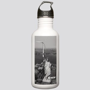 Marks Statue T-shirt Stainless Water Bottle 1.0L