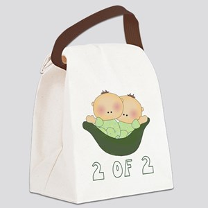 26 2 of 2 boys Canvas Lunch Bag