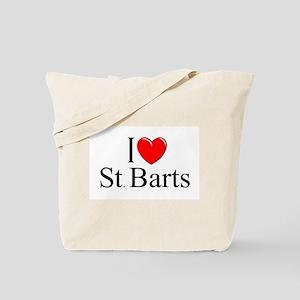 """""""I Love St. Barts"""" Tote Bag"""