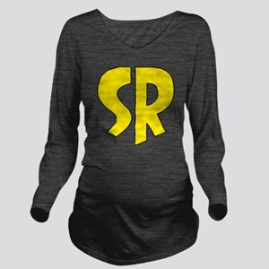 Super_rock Long Sleeve Maternity T-Shirt