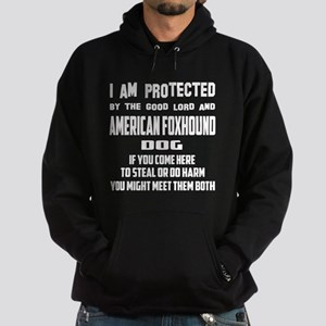 I am protected by the good lord and Hoodie (dark)