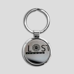 LOSTTV_LOSTDHRMA Round Keychain