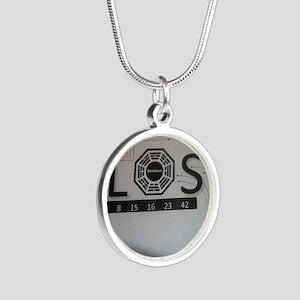 LOSTTV_LOSTDHRMA Silver Round Necklace