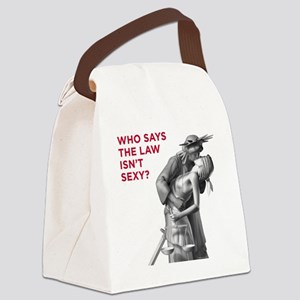 Sexy_v2_FRONT Canvas Lunch Bag