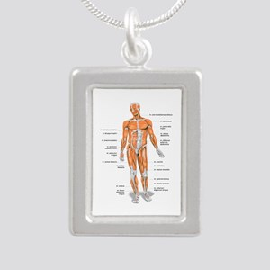 Muscles anatomy body Necklaces
