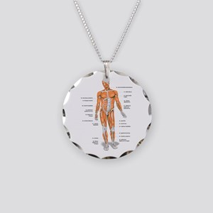 Muscles anatomy body Necklace