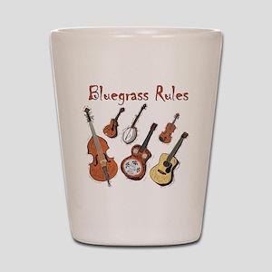 Bluegrass Rules Shot Glass