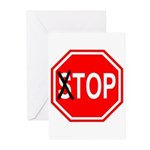 Top Sign Greeting Cards