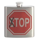 TOP Sign Flask