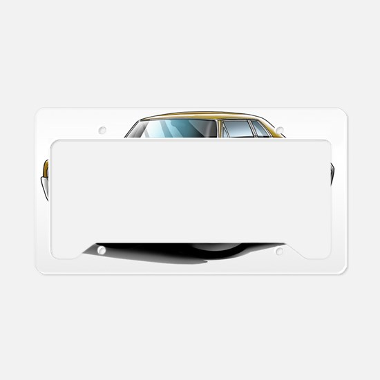 1966 Olds Cutlass Gold Car License Plate Holder