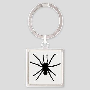 Spider Square Keychain