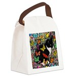 Freckles in Butterflies I Canvas Lunch Bag