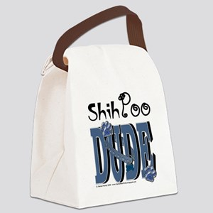 ShihPooDude Canvas Lunch Bag