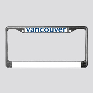 vancouver License Plate Frame