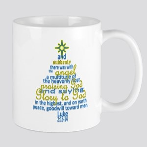 Luke 2:13-14 Mugs