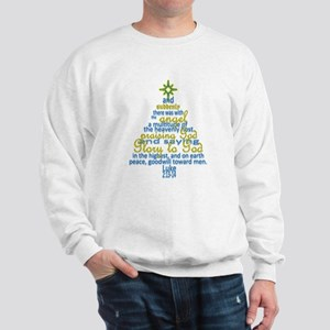 Luke 2:13-14 Sweatshirt
