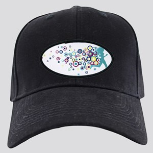 circles-turquise Black Cap
