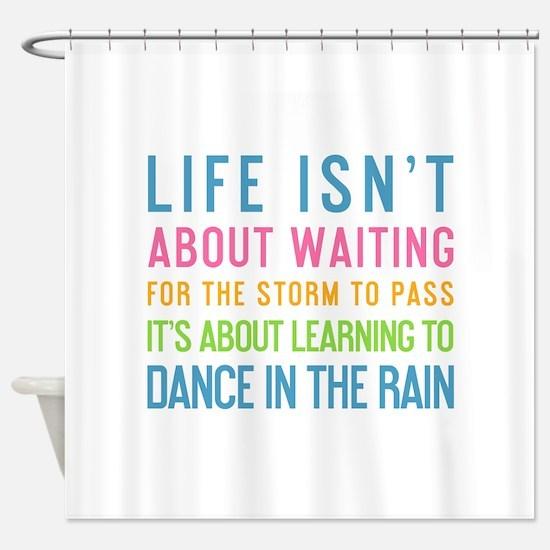 Funny Rain Shower Curtain