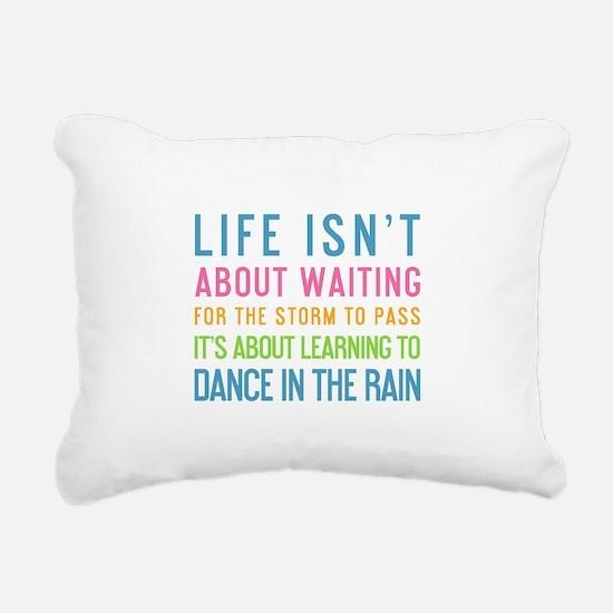 Unique Inspirational quotes Rectangular Canvas Pillow