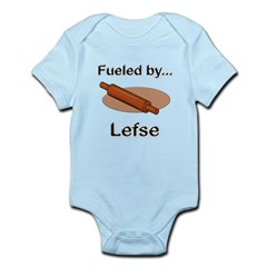 Fueled by Lefse Infant Bodysuit