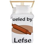 Fueled by Lefse Twin Duvet