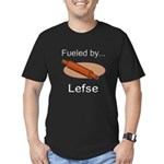 Fueled by Lefse Men's Fitted T-Shirt (dark)