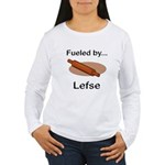 Fueled by Lefse Women's Long Sleeve T-Shirt