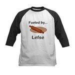 Fueled by Lefse Kids Baseball Jersey