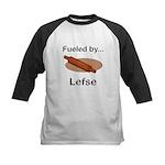 Fueled by Lefse Kids Baseball Jersey