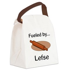 Fueled by Lefse Canvas Lunch Bag