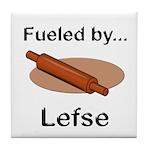 Fueled by Lefse Tile Coaster