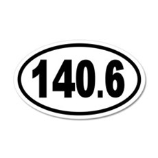 Iron 140.6 20x12 Oval Wall Peel