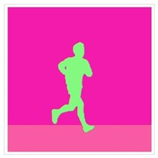WAX YELLOW RUNNER Poster