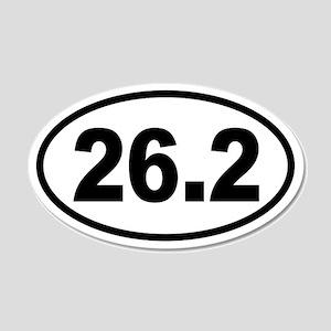Basic Marathon 20x12 Oval Wall Peel