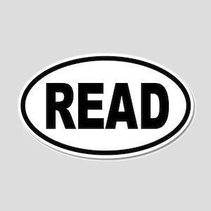 READ 20x12 Oval Wall Peel