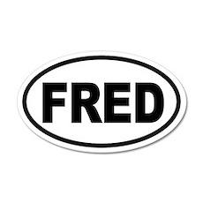 Fred Thompson '08 20x12 Oval Wall Peel