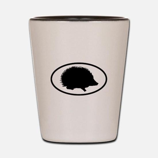 Funny Hog Shot Glass