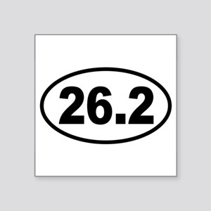 Basic Marathon Oval Sticker