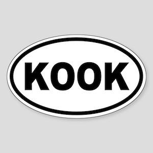 Basic KOOK Oval Oval Sticker