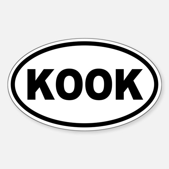 Basic KOOK Oval Oval Decal