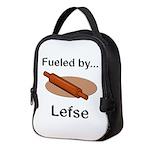 Fueled by Lefse Neoprene Lunch Bag
