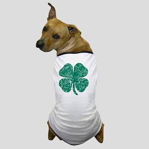 vintage shamrock 3 Dog T-Shirt