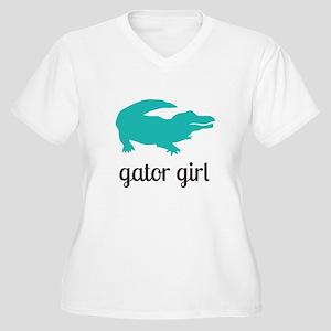 Gator Girl Plus Size T-Shirt